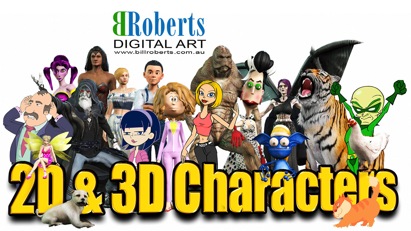 Bill Roberts Digital Art