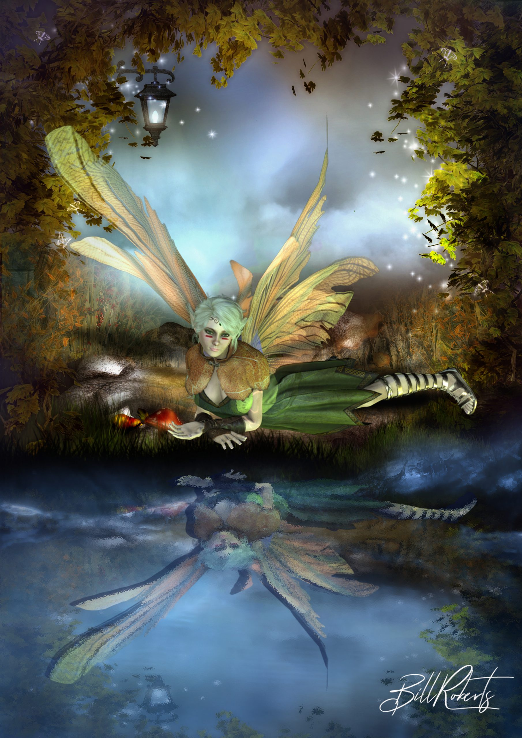 Fairy-by-the-river