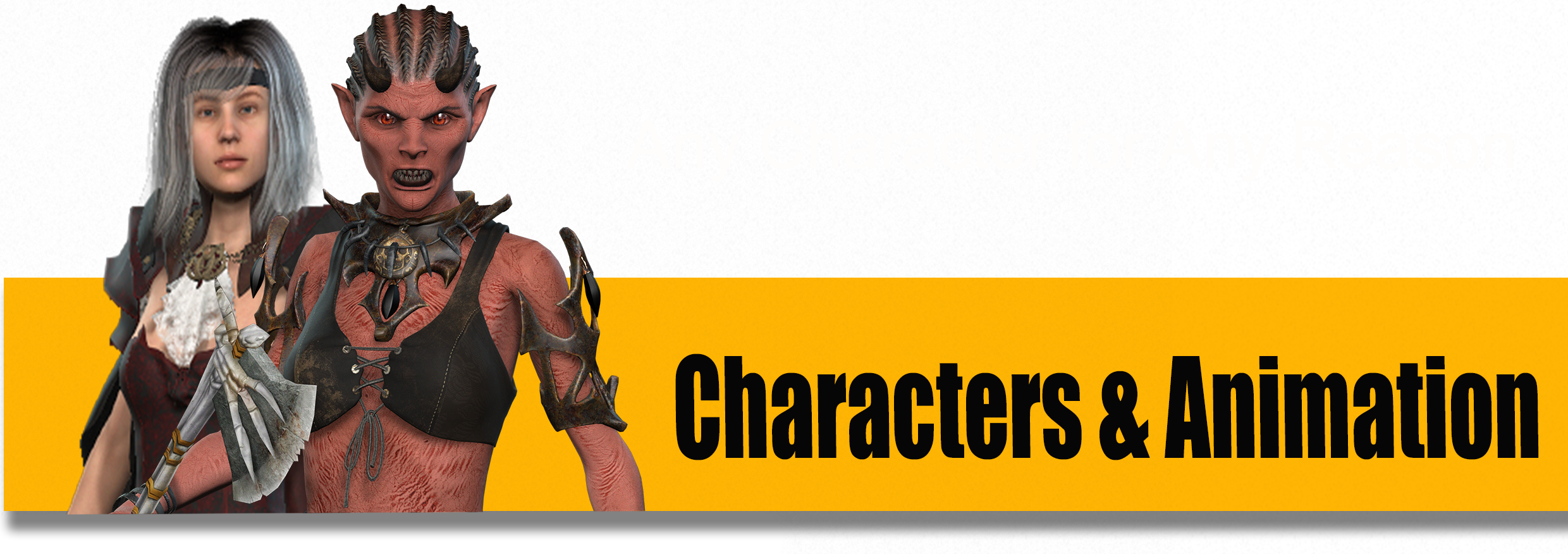 Character Intro Banner