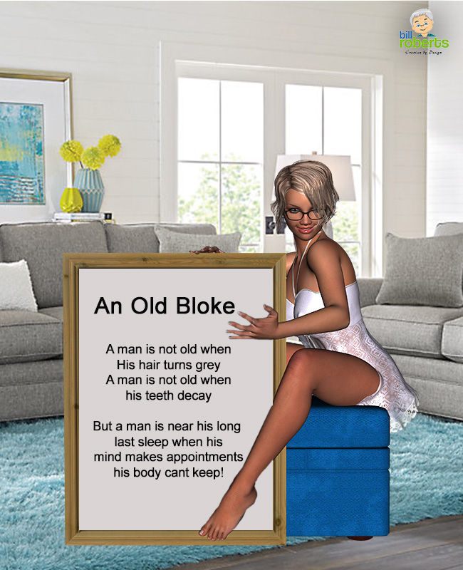 Old Bloke Poem
