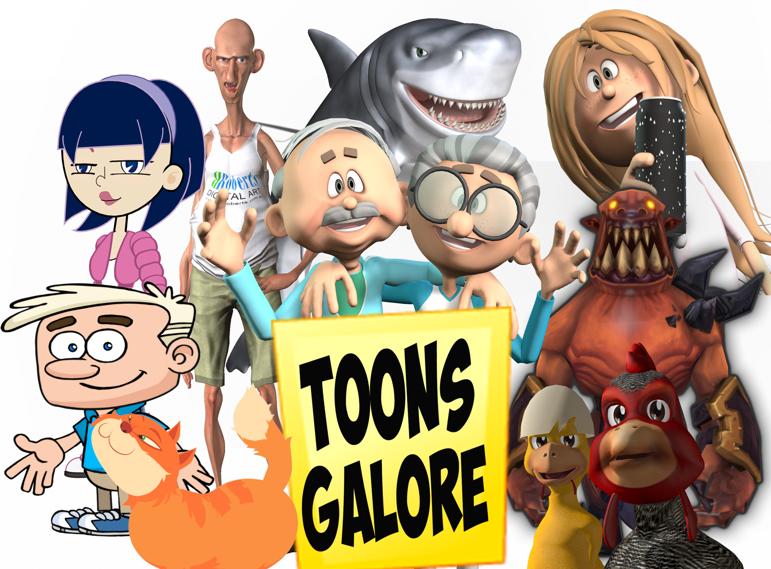 Toons Galore