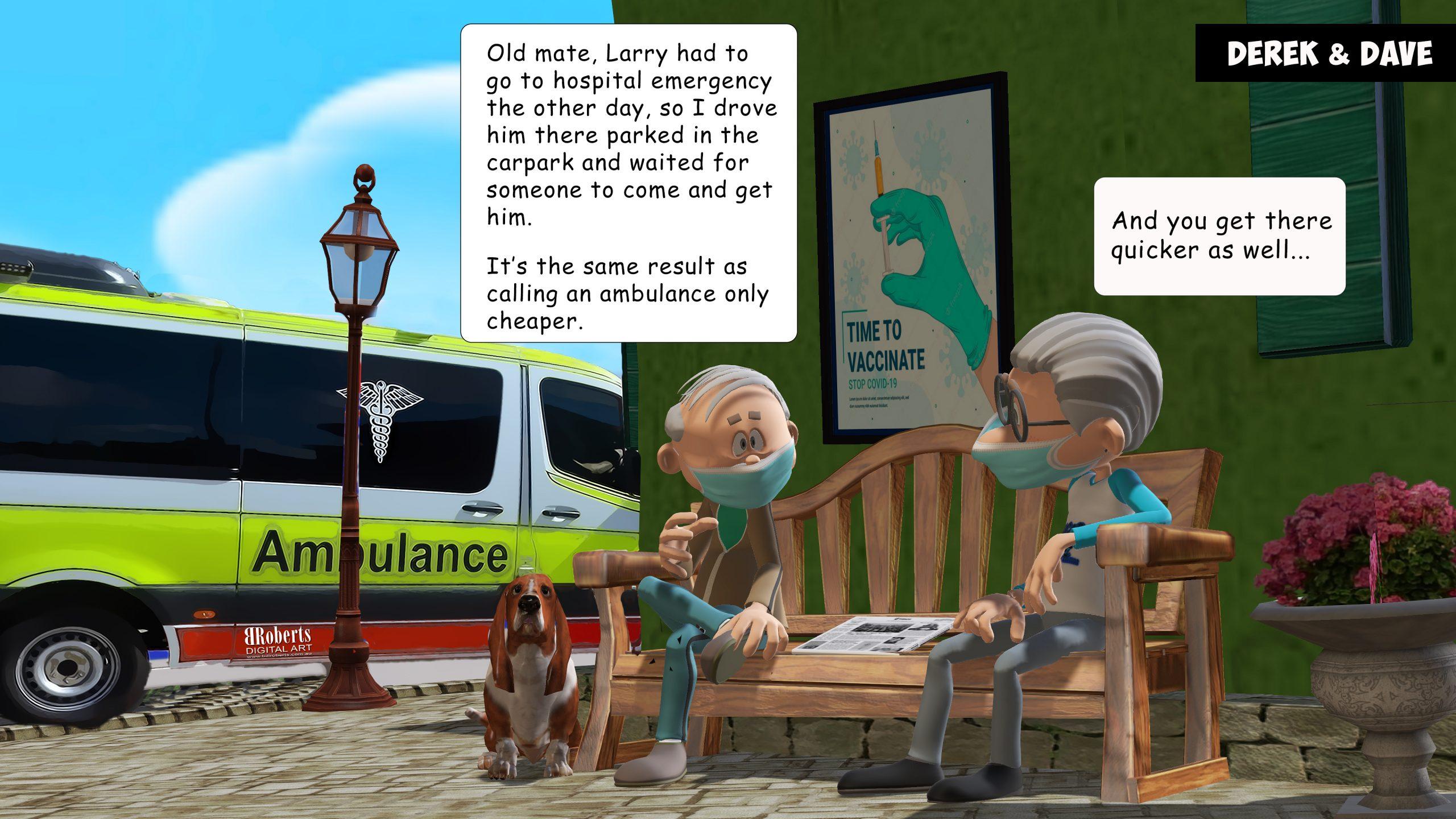 Amulance Ramping